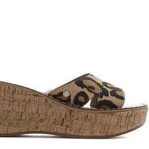 099d87c1c43b Sam Edelman Shoes - Sam Edelman Reid Haircalf Platform Wedge Sandal